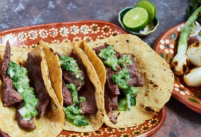 arrachera tacos skirt steak